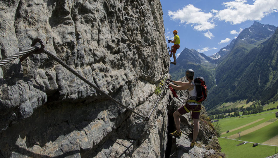 Kletterausrüstung Einsteiger : Klettern im Ötztal für einsteiger und profis